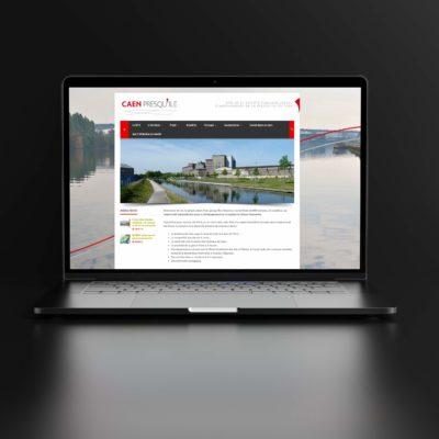 CAEN PRESQU'ILE - conception graphique & site web