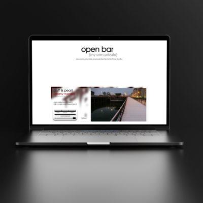 OPEN BAR - conception graphique & déclinaisons (édition & digital)