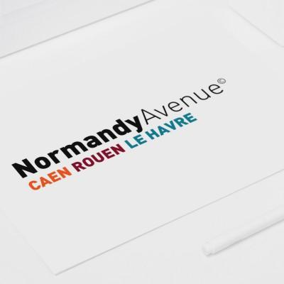 NORMANDY AVENUE - conception graphique identité & charte graphique