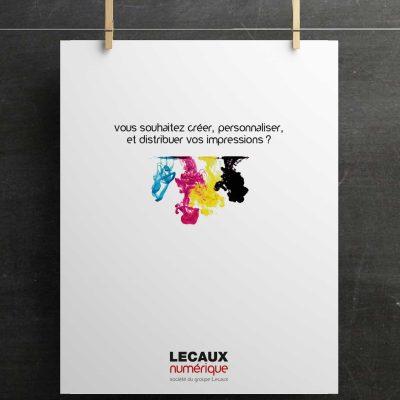 LECAUX - conception graphique & déclinaisons (édition & digital)