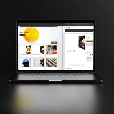WALTER CHOSE - conception graphique identité & réalisation site de vente en ligne.