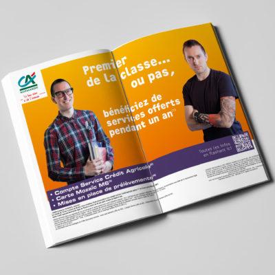 CREDIT AGRICOLE - conseil et conception campagne grand public